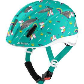 Alpina Ximo Flash Helm Kinder türkis